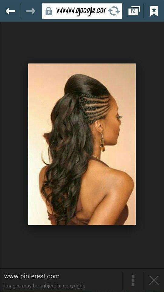 Cornrows With A Bump Hair Hair Styles Hair Natural Hair Styles