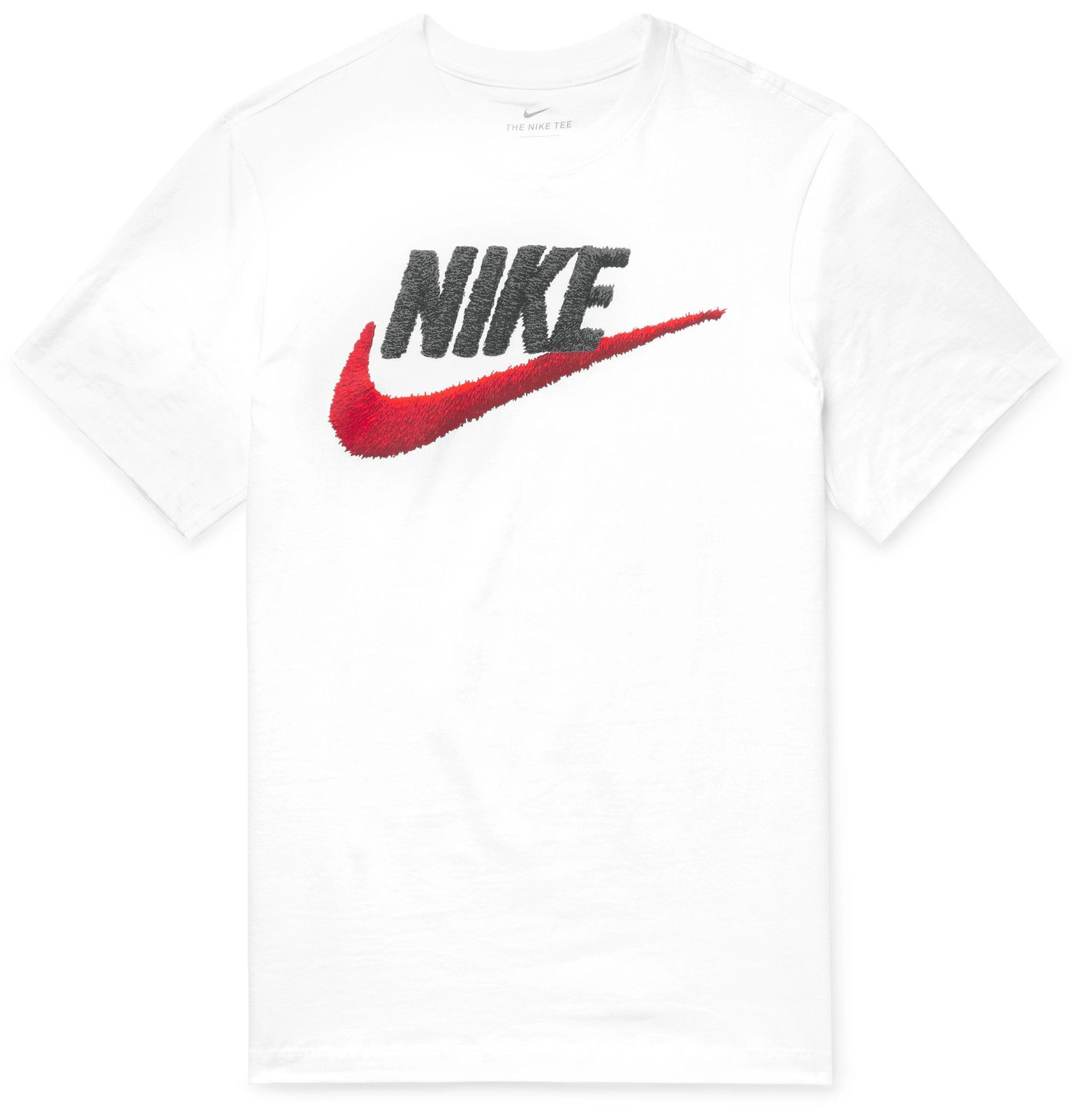 Nike Men Icon Futura T shirt Black