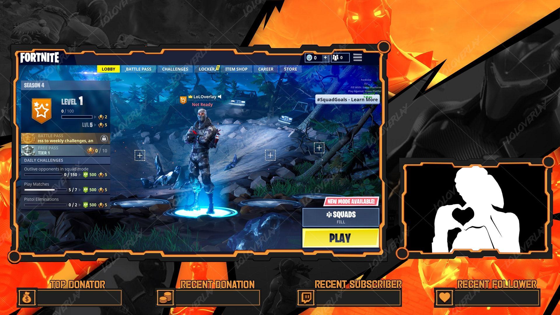 Fortnite Omega Lobby Overlay Fortnite Overlays Graphics Inspiration