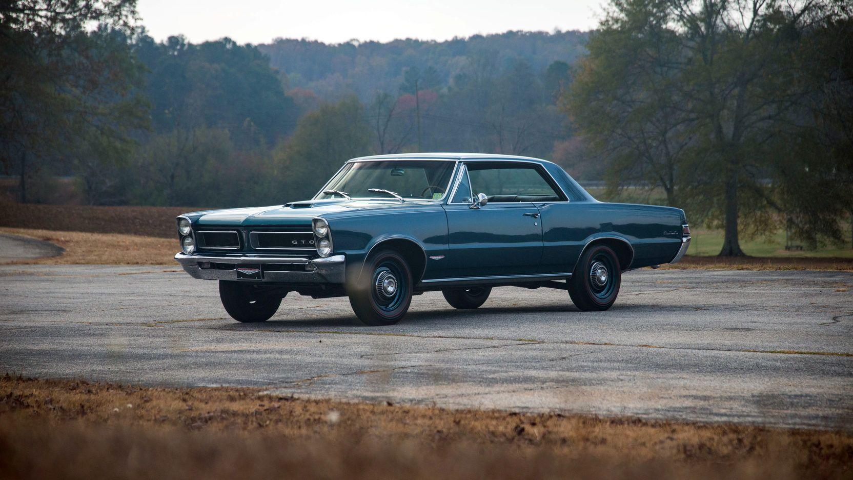1965 Pontiac Gto 1 Print Image 1965 Pontiac Gto Pontiac Gto Pontiac