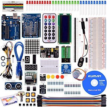 Starter Kit for Arduino hardware and coding learning UNO R3 Board Tutorial