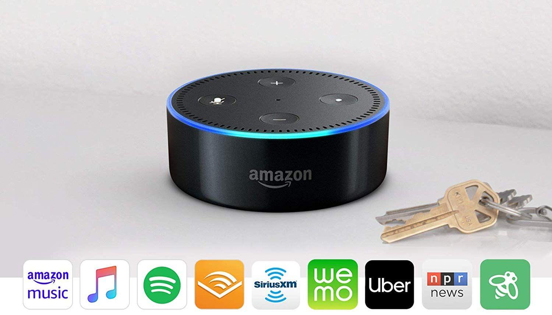 Echo dot 2nd generation smart speaker with alexa