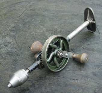 Metro Tool Works Mini Breast Drill c.1950