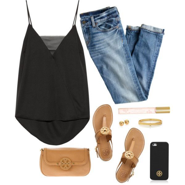 40 Best Polyvore Summer Outfit Ideas 2018 | Casual chic summer