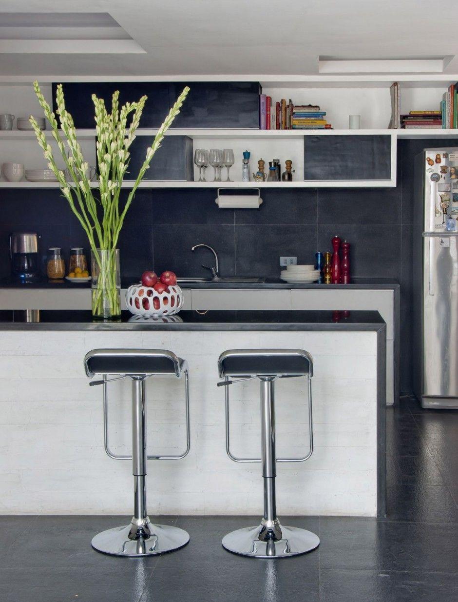 Inspiring And Cool Home Mini Bar Design Inspiration Appealing Home Mini Bar Design With Bla Kitchen Remodel Small Kitchen Bar Design Minimalist Small Kitchens