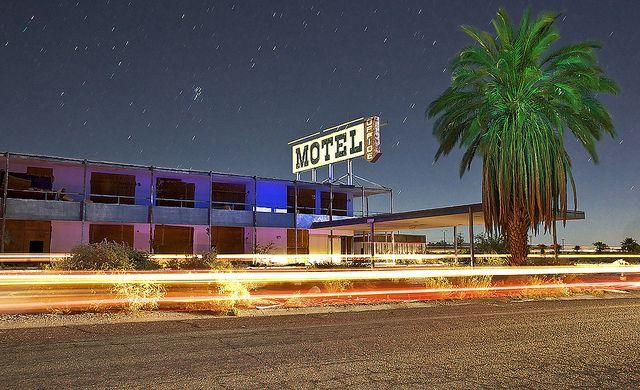 Abandoned Motel Salton Sea