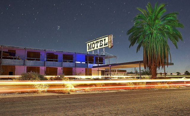 Abandoned Motel Salton Sea Flickr Photo Sharing