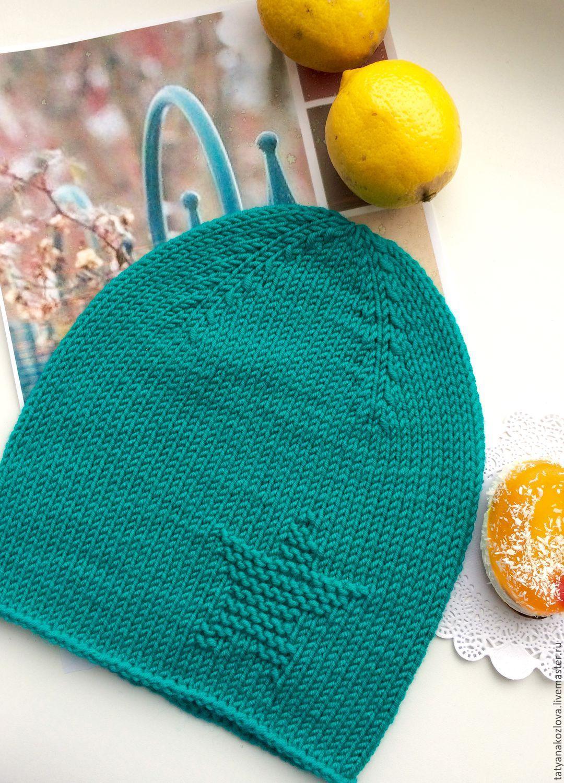 шапочка тоторо схема вязания