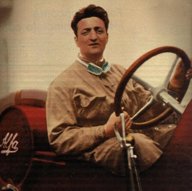 Enzo Ferrari Second Place On Targa Florio 1920 With Alfa Romeo 40 60 14 Schöne Autos Alfa Romeo Formel 1
