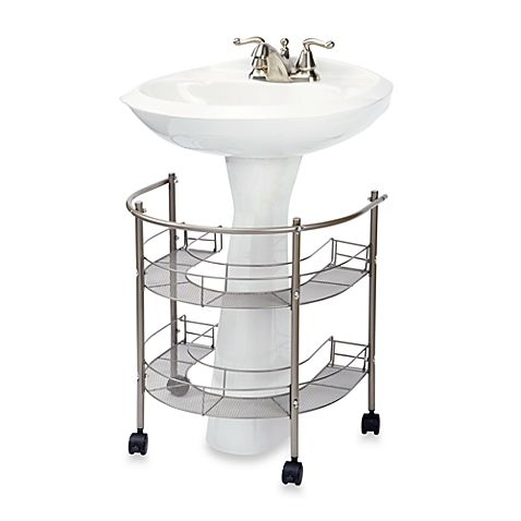 Melissa Doug Dollhouse Bathroom Furniture Set Pedestal Sink