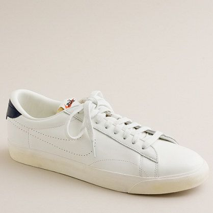 Nike® for J.Crew Vintage Collection leather Tennis Classic AC sneakers