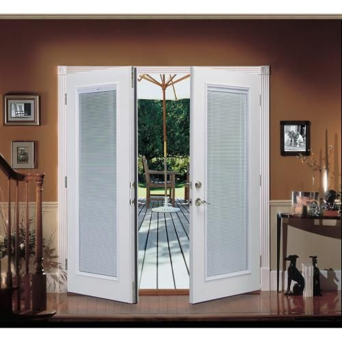 French Doors To Patio With Internal Blinds French Doors Patio