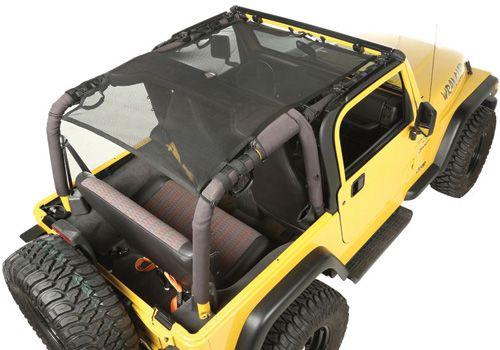 Jeep Accessory - Rugged Ridge Jeep Wrangler Eclipse Sun Shades