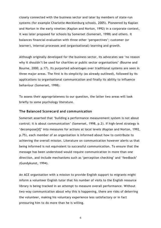 Example Of A Literature Review template Example of literature