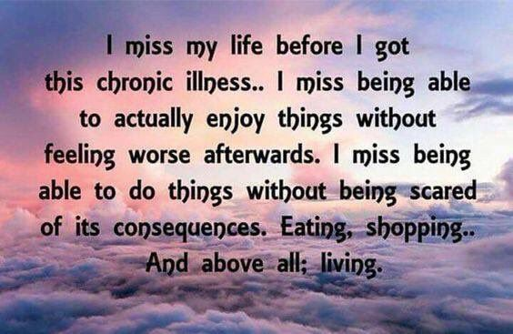 """Lisa  @lisaalioto Jan 25 More I've learned to come to terms with my """"new"""" life and even have found new areas of interest but there's also no denying the reality of this either. #pwme #myalgice"""
