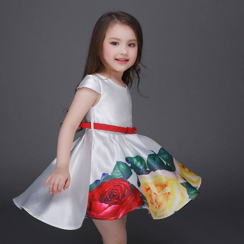 Cheap Princess Dress Girl Buy Quality Directly From China Kids Suppliers 2017 Summe Style Girls Ball Gown Evening Party Dresses