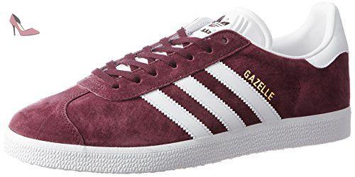 adidas Gazelle, Chaussures de sport homme, Rouge ((Granat ...