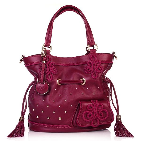 Wild berry! Lancel Flirt Bucket Bag Cardinal - Fashionette.de,$39.99,shop at:  #cheapwholesalehub.com