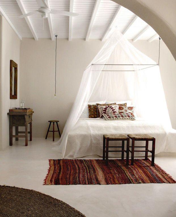 ethnic bedroom decor ethnic Quarto étnico, Quarto com