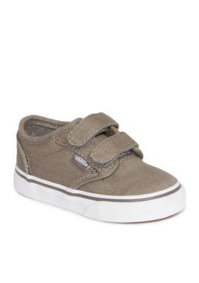 37446293d6 Vans Boys  Atwood V Shoe - Boy Infant Toddler Sizes - Canvas Pewter -