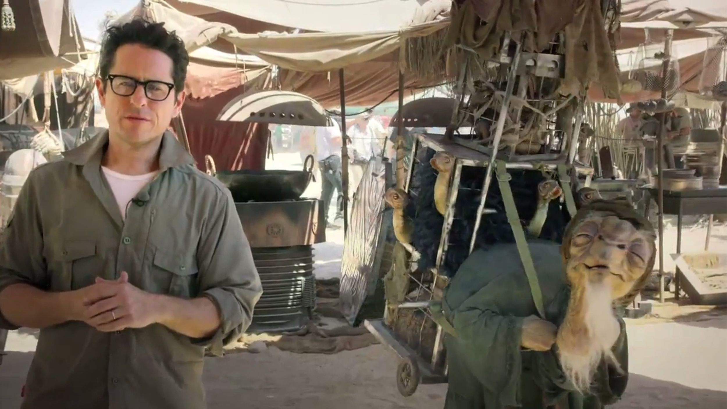 'Star Wars' director J.J. Abrams reveals new creature, offers chance to win movie role
