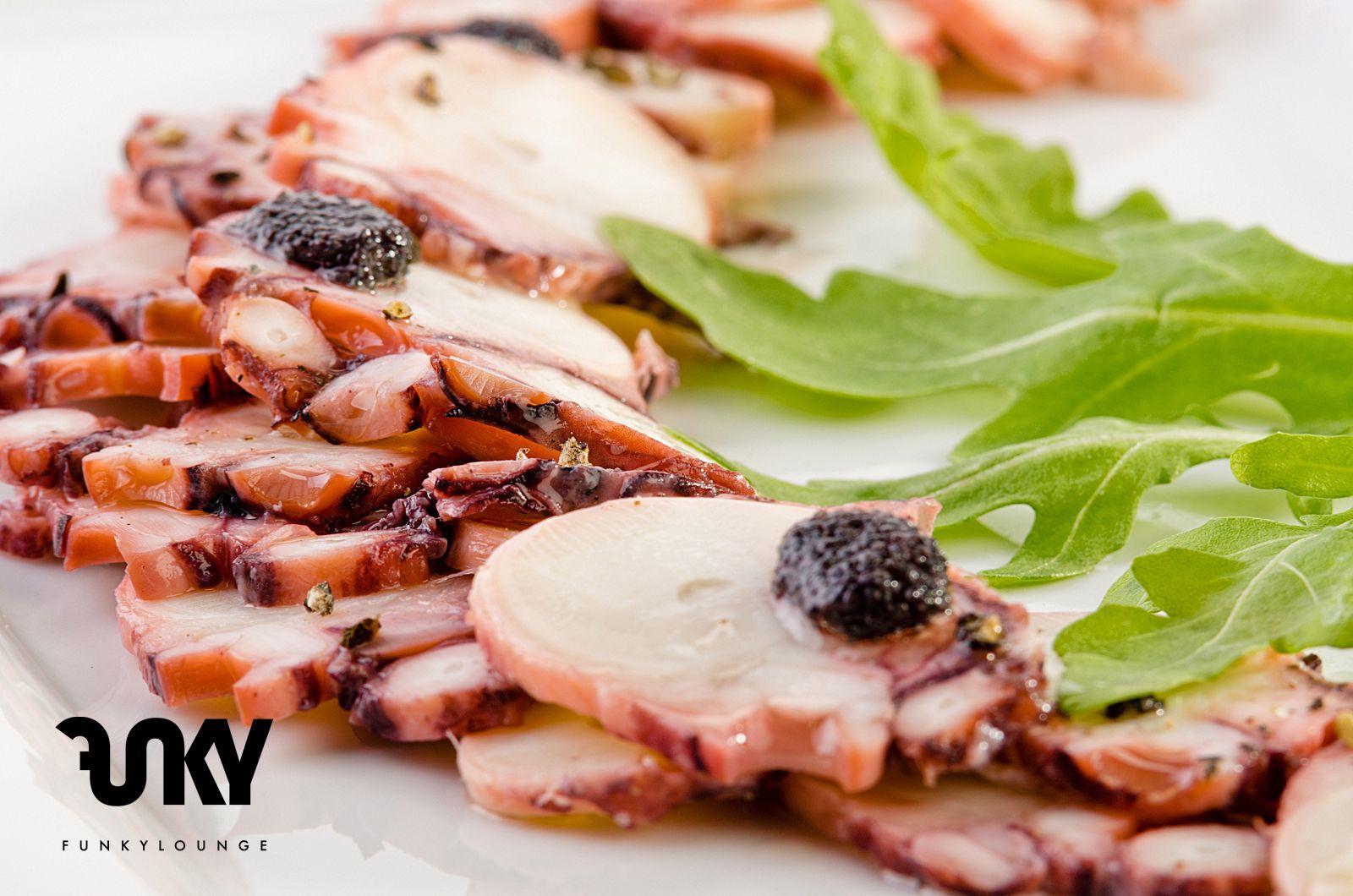 Octopus Carpaccio @ Funky Lounge Herastrau