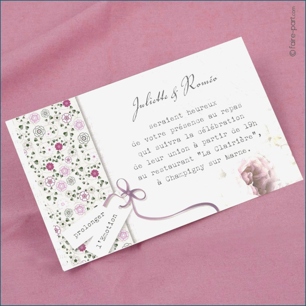 carton d invitation mariage gratuit
