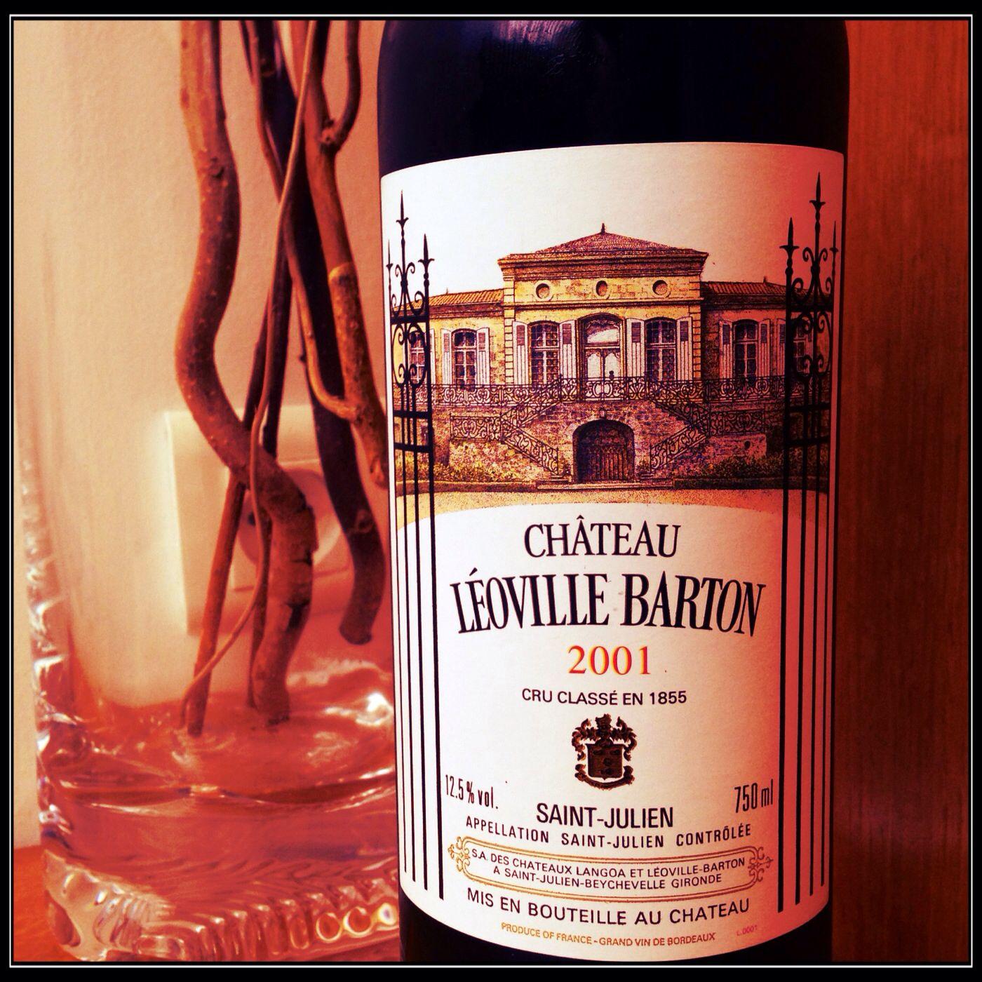 Chateau Leoville Barton 2001 Grand Cru Classe De Saint Julien Bouteille Sainte Julienne Gironde