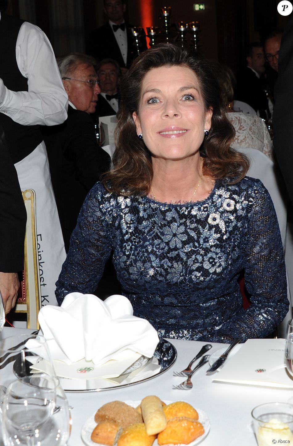 La princesse Caroline de Hanovre prenait part le 14 juin 2016 à un dîner de gala au profit de l'AMADE et de la Fondation Roland Berger à la résidence de Munich, en Allemagne. Photo by Ursula Dueren/DPA/ABACAPRESS.COM