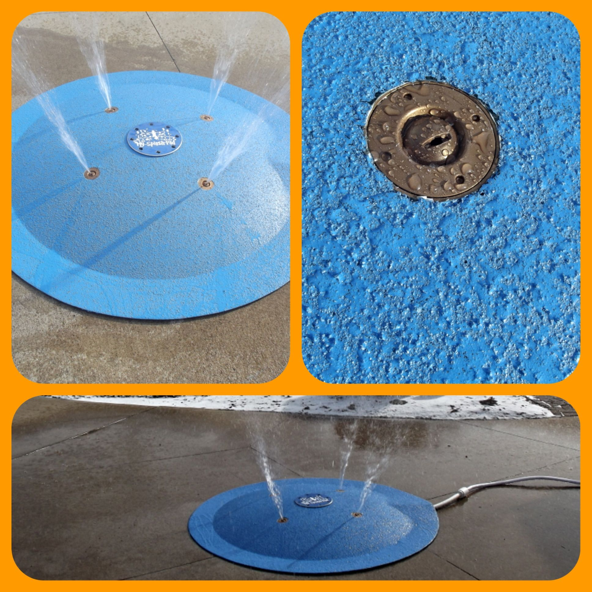 Diy Splash Pad For Dogs: My Splash Pad Portable Backyard Splash Pad!! Plug And Play