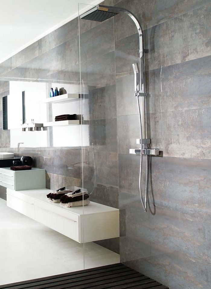 Shine Dark This Beautiful Wall And Floor Tile Softly Imitates Real