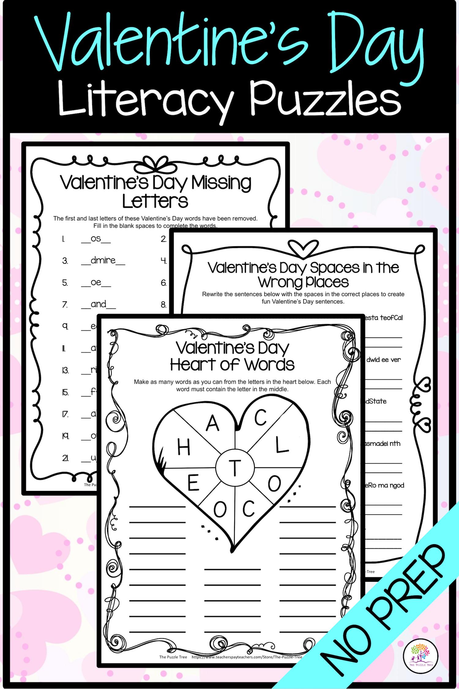 Valentine S Day Activities Valentine S Day Literacy