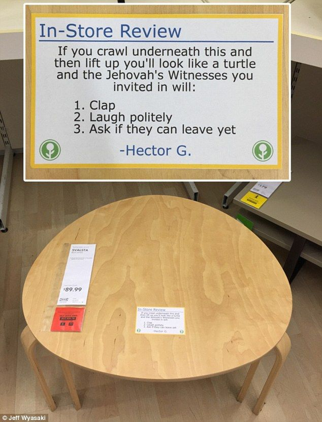 Ikea Gets Pranked By Comedian Writing