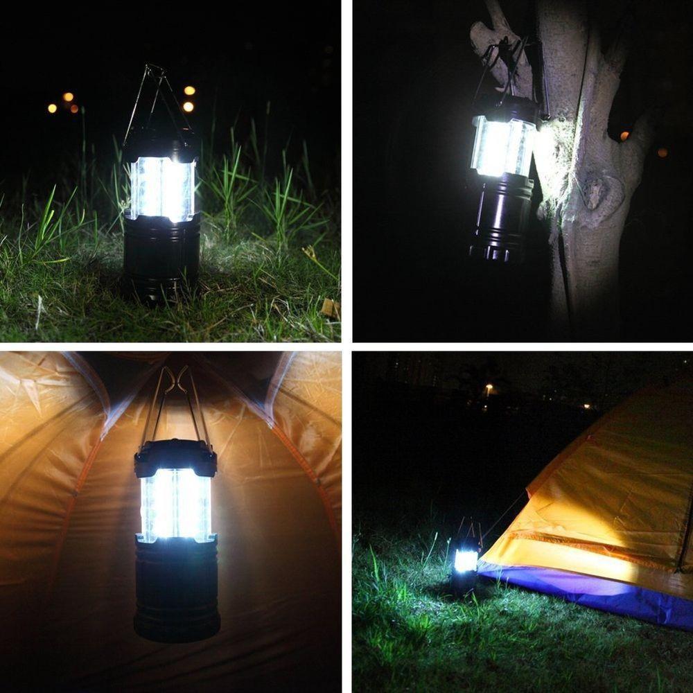 3 Pack Led Camping Lantern Flashlight Lamp Outdoor Hiking
