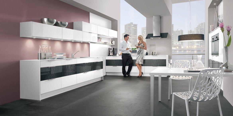 Küche in Vanille #Küchenzeile wwwdyk360-kuechende Küchen in - nobilia küchen berlin