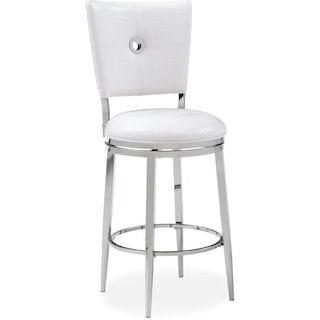 Super Debutante Barstool White Value City Furniture Redo Onthecornerstone Fun Painted Chair Ideas Images Onthecornerstoneorg