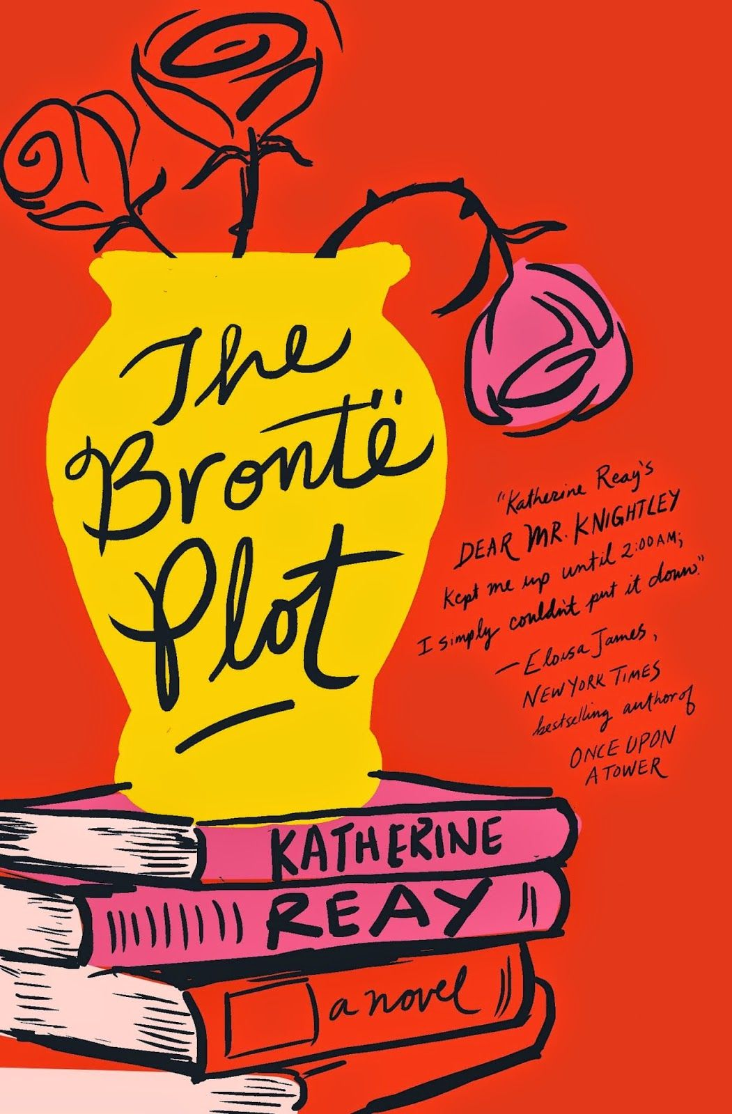 Book Giveaway The Bronte Plot