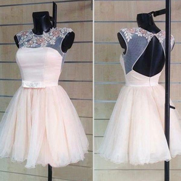Kurz Tüll Abschlusskleider Abiballkleider   my style   Dresses, Prom ... 474f407d9b
