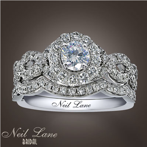 Neil Lane Engagement Ring And Wedding Band...this IS My