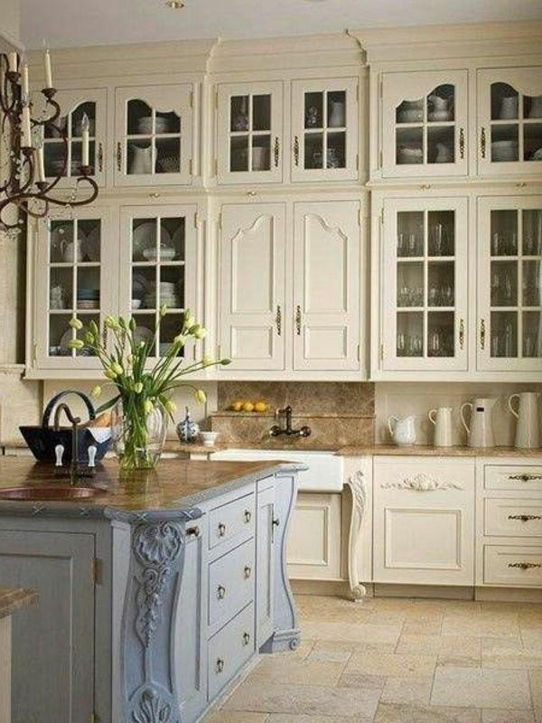 Vintage Küchenmöbel im Trend | Helle farben, Küchenmöbel und Vintage ...