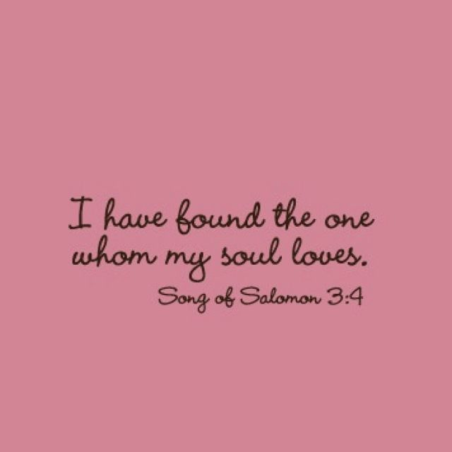 bible verse i have found the one