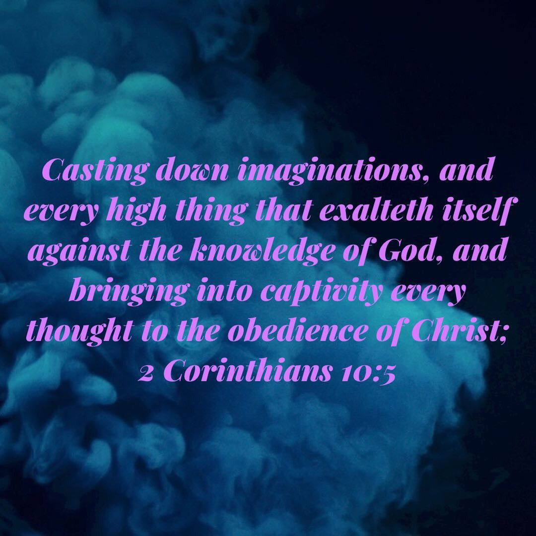 2 Corinthians 10:5 KJV (With images) | Beautiful  bible quotes ...