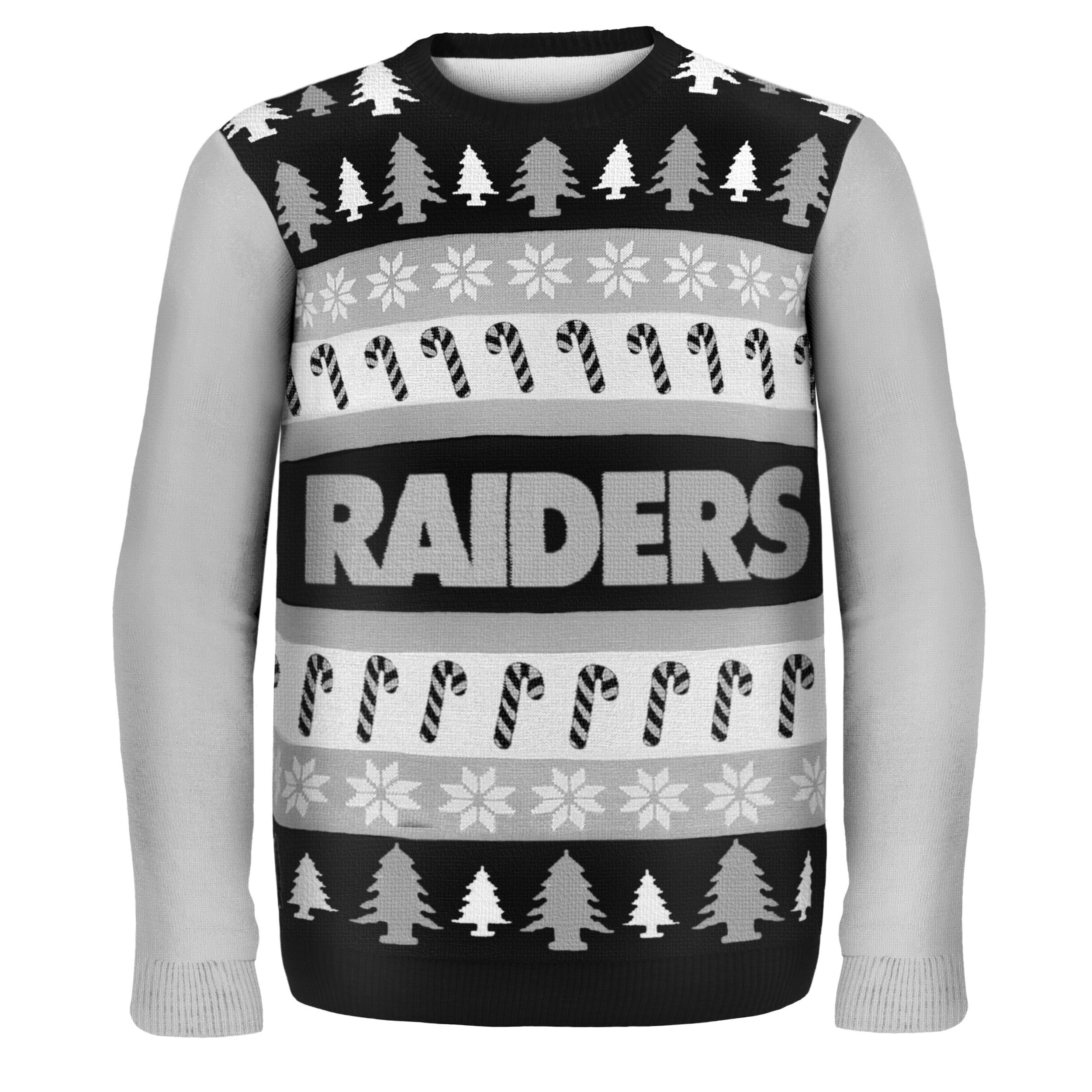 Forever Collectibles NFL Oakland Raiders One Too Many Ugly Sweater ...