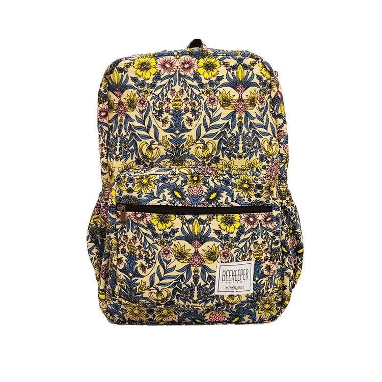The Fluoro Flower BeeKeeper Backpack  010479b0e8b29