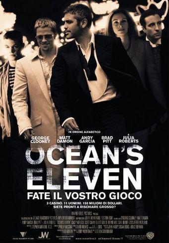 Danny Ocean (George Clooney) accusato di truffa aggravata e rapina ...