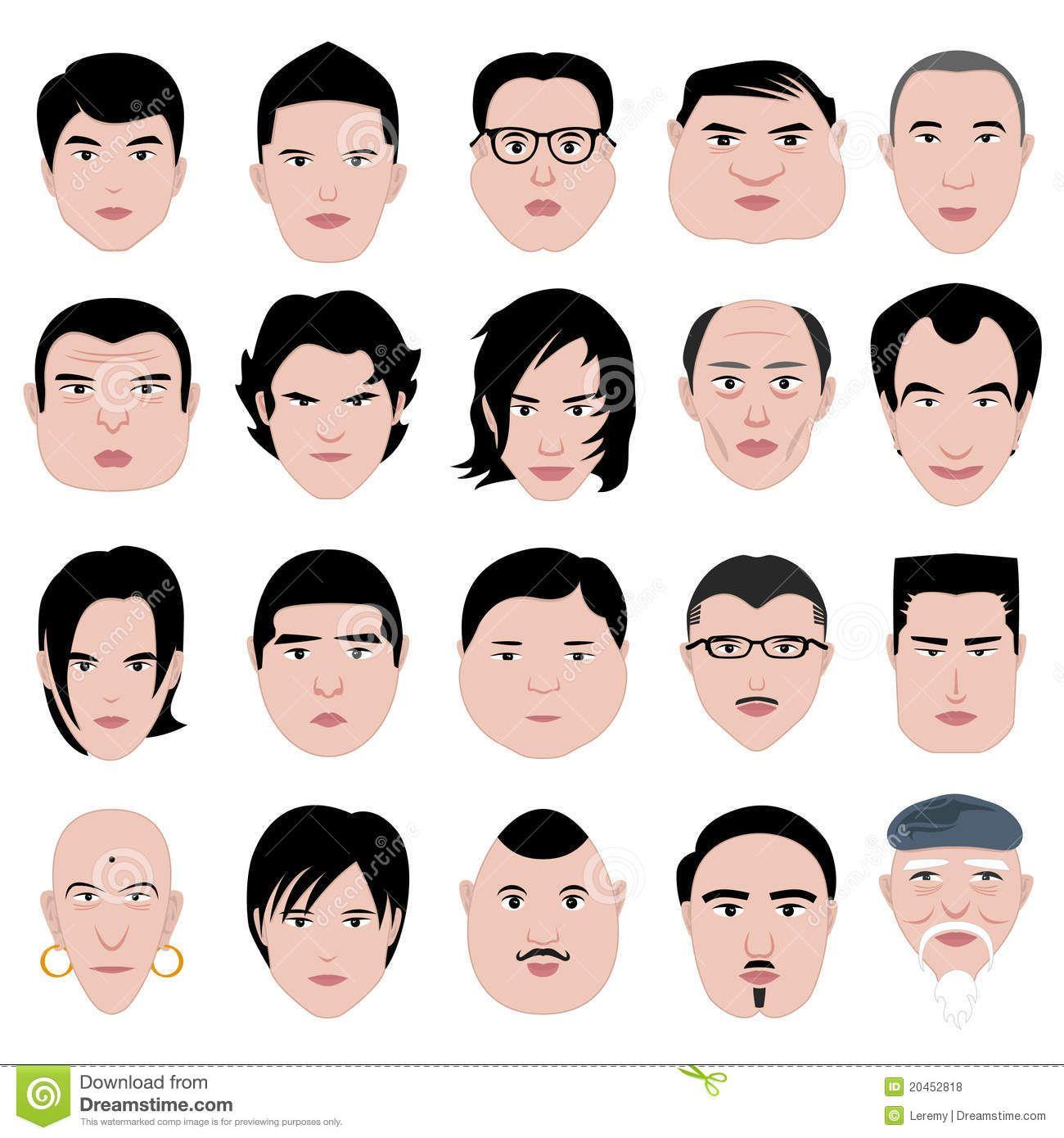 men facial shapes jpg 422x640