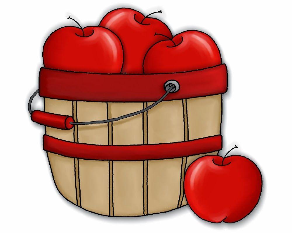 Image result for apple basket  clipart