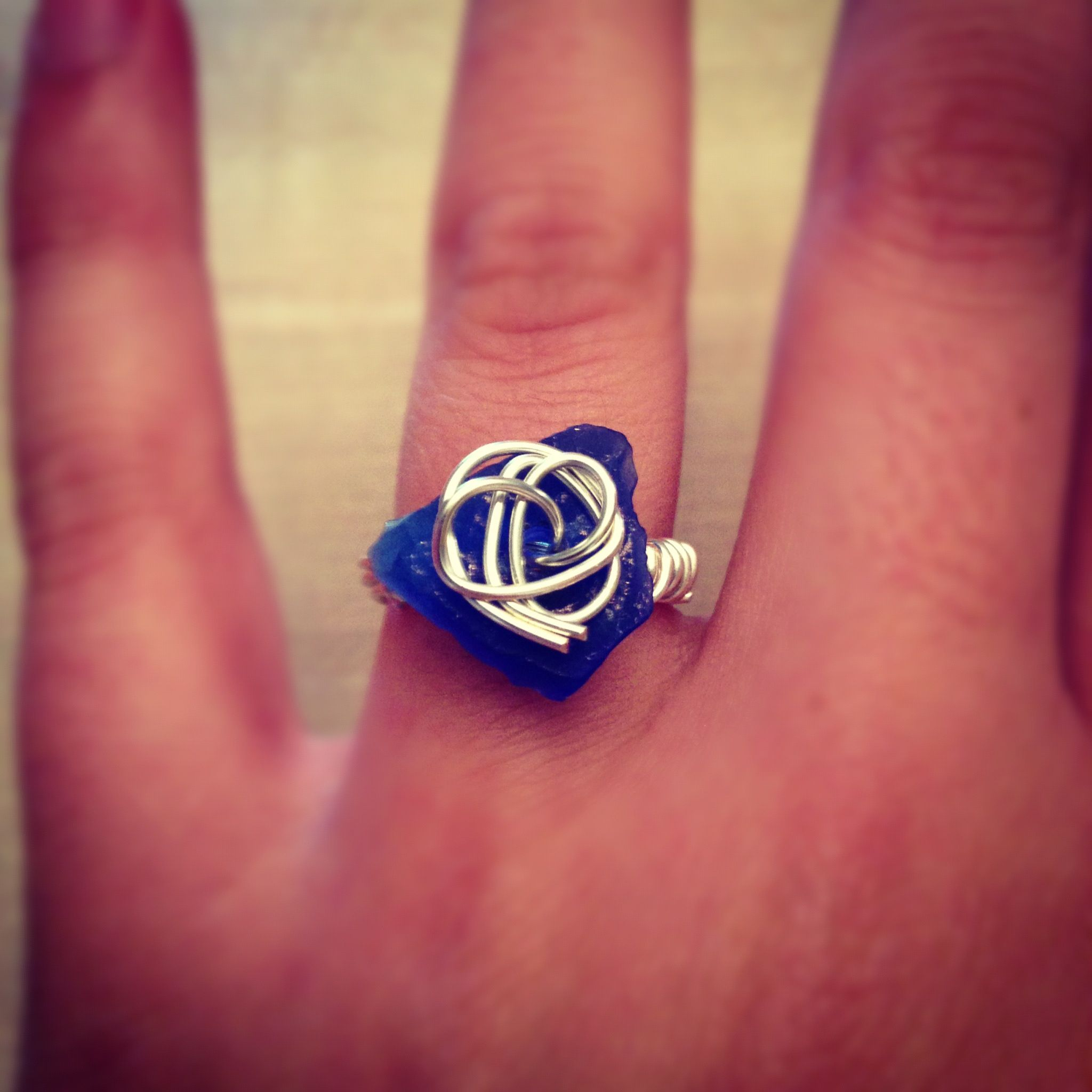 Blue tumble by sea glass sisters jewelry | LOVE this :) | Pinterest ...