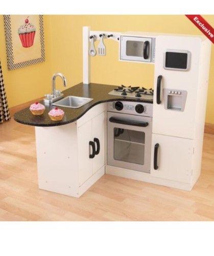 Kidkraft Chef S Corner Play Kitchen 53278 Kids Play Kitchen