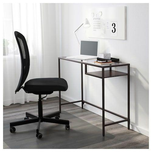 Vittsjo Table Ordinateur Portable Brun Noir Verre 100x36 Cm Ikea Ikea Ideer Ikea Mobler Ideer